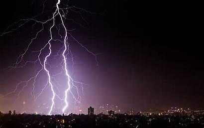 Lightning Thunder Wallpapers Storm 4k Desktop Sydney