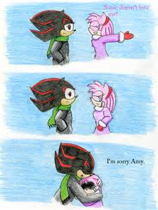 Amy and Shadow Comic