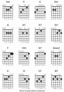 Plhs Guitar  Basic Chords With Fingerings