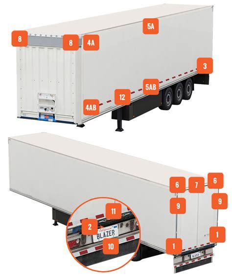 Tractor Trailer Wiring Led Light by Semi Trailer Select A Light Location Blazer International