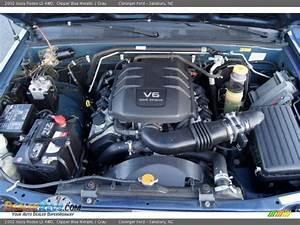 2002 Isuzu Rodeo Ls 4wd 3 2 Liter Dohc 24
