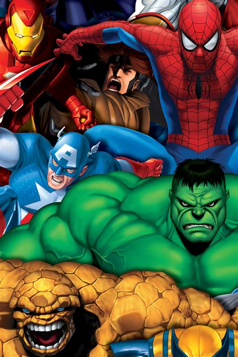 Hd Wallpaper For Mobile Marvel by 50 Marvel Phone Wallpapers On Wallpapersafari