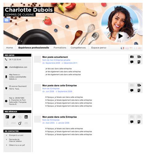 cv chef de cuisine modele gratuit cv cuisinier document