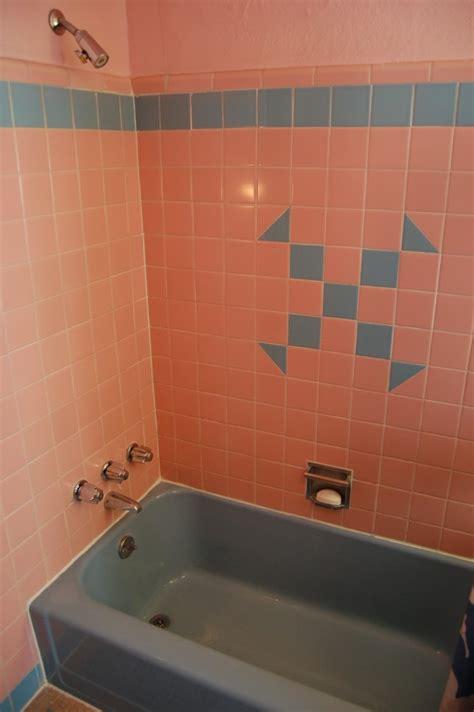 1950s bathroom tile nora s time capsule house retro renovation 10025