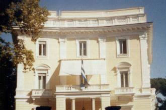 Consolato Greco In Italia by Roma Bombe Ambasciate Roma Ambasciata Greca