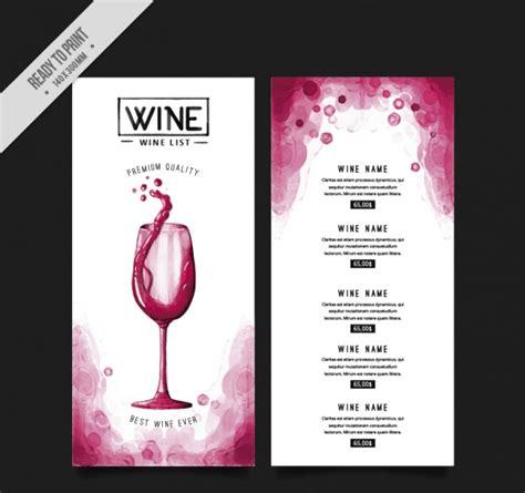 Wine Dinner Menu Template 50 Free Restaurant Menu Templates Food Flyers Covers