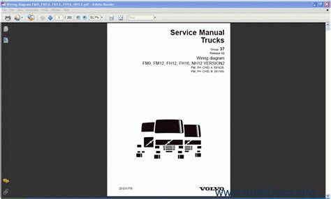 Volvo Fh12 Version 2 Wiring Diagram by Volvo Fm9 Fm12 Fh12 Fh16 Nh12 Version 2 Order