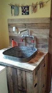 70, Diy, Pallet, Ideas, Cool, Laundry, Sink, In, Decorating, Design, Ideas, With, Laundry, Sink, Diy, Costumes