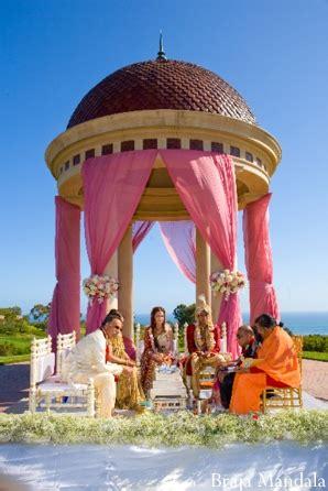 newport beach california indian wedding  braja mandala