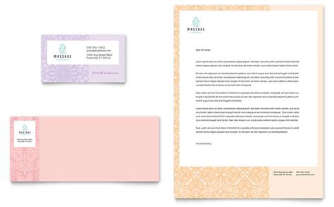 Massage Business Card & Letterhead Template Business Card Printer Tokyo Yellow Paper Untuk Visiting Printers In Goregaon East Chennai Design Png File Manchester Price List