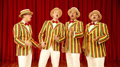 meet  late night barbershop quartet  ragtime gals