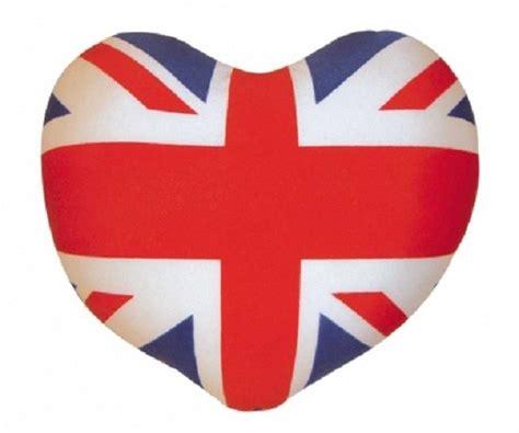 Cuscini Bandiera Inglese Cuscino Bandiera Inglese A Forma Di Cuore Gruppo