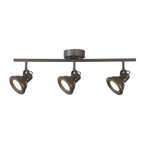 hton bay 3 light led restoration directional track