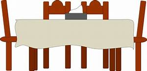 Dining Table Free Images at Clker com - vector clip art