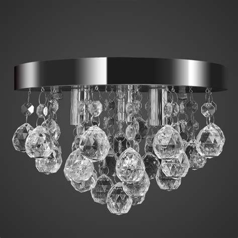 lustre plafonnier contemporain cristal le chrom achat vente lustre plafonnier contempor