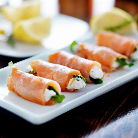 recette roule de saumon fume  laneth fromage frais