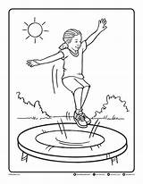Trampoline Coloring Pages Printables Friday Link Bendonpub Follow Colouring Below Games Template Templates Freebie Pdf Sketch Bendon sketch template