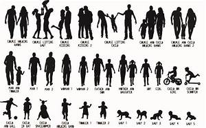 personalised family silhouette papercut or print by the ...