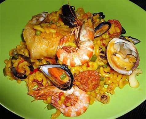 moules cuisine recette de fideua la paella avec des pates