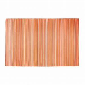 Tapis Extérieur Polypropylène : tapis d 39 ext rieur en polypropyl ne orange 180 x 270 cm ~ Edinachiropracticcenter.com Idées de Décoration