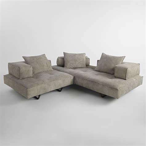 canapé cuir moderne design canapé modulable design moderne cardo revȇtement en cuir