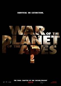 "Science fiction film ""War for the Planet of the Apes"" by ..."