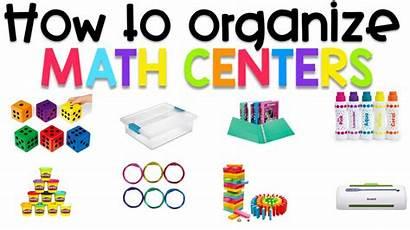 Math Centers Organize Ways Check Easy Kaysemorris