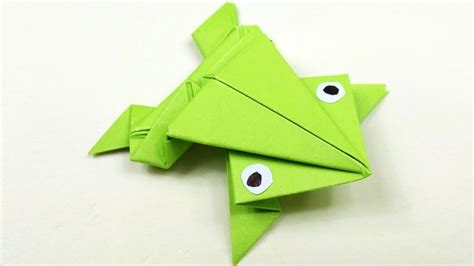 jumping frog origami  beginners