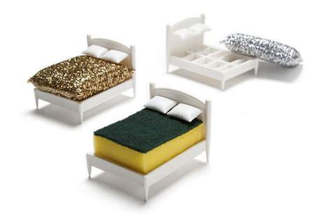 kitchen sponge holder clean dreams kitchen sponge holder in shape of a miniature bed