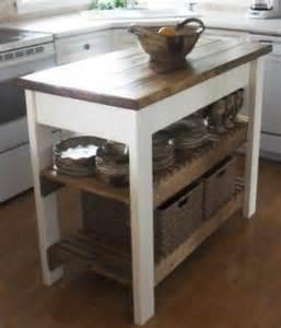 Wood Kitchen Cart Foter
