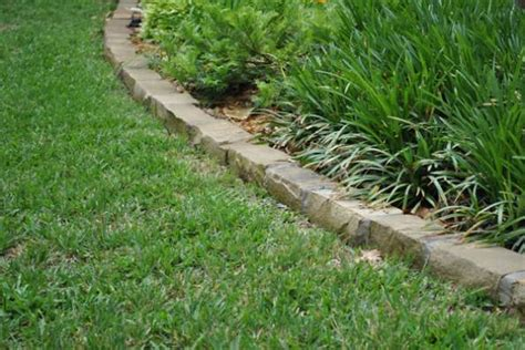 edging complete beautiful landscape of yard