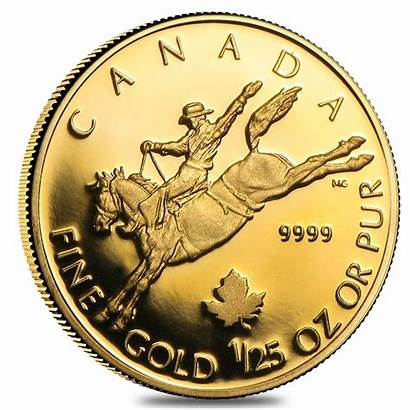 Canadian Coin Gold 2006 Oz Proof Cowboy