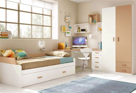 chambres pour enfants chambre pour enfant cosy avec lit gigogne glicerio