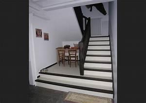 Habillage Escalier Interieur : habillage escalier au millimetre menuiserie ~ Premium-room.com Idées de Décoration