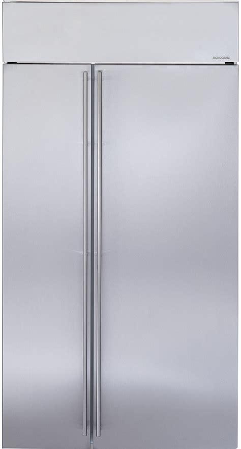 monogram zissnkss   built  side  side refrigerator  temperature controlled