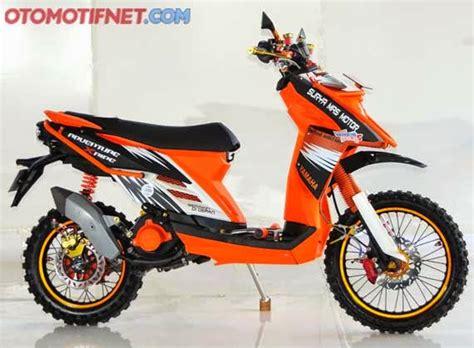 Modifikasi Mio Sporty Menjadi X Ride by Modifikasi Mio Menjadi X Ride Modif Motor Terbaru 2019