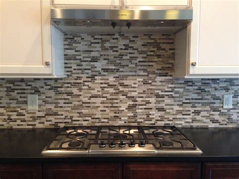 how to install kitchen backsplash that comes with cabinets