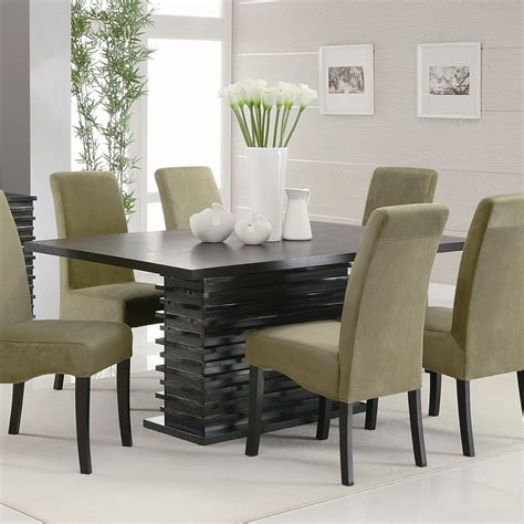 stanton contemporary dining table quality furniture
