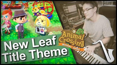animal crossing  leaf title theme lo fi hip hop remix