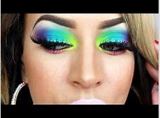 Take Me To BrazilCarnival Makeup Tutorial! YouTube