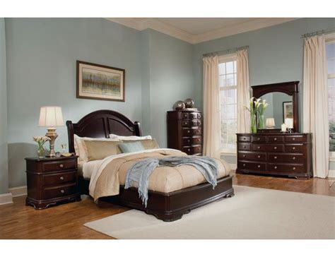 Light Brown Bedroom by 2000 The Furniture Brown Traditional Style