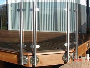 Garde Corps Terrasse Inox : garde corps terrasse en verre sur mesure maisondugarde ~ Melissatoandfro.com Idées de Décoration