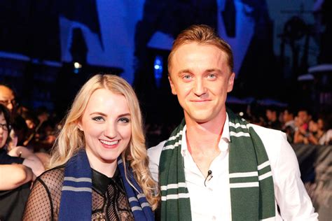 Draco And Luna Images Tom Felton And Evanna Lynch