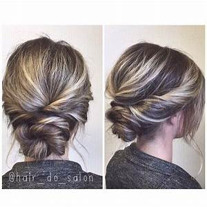 Simple Twisted Updo Prom Or Wedding Hair Hair