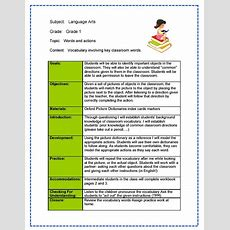 Daily Lesson Plan Template  Free Small, Medium And Large Images  Izzitso  Teacher Stuff