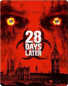 28 Days Later Limited Edition Steelbook Blu Ray Zavvi