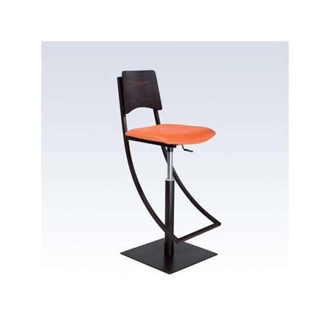 chaise de bar reglable tabouret de bar réglable en métal ophélie 4 pieds