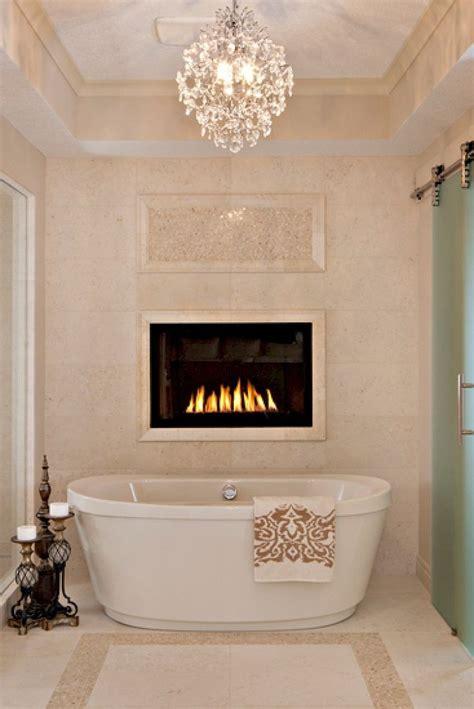 bathroom fireplaces images  pinterest dreams