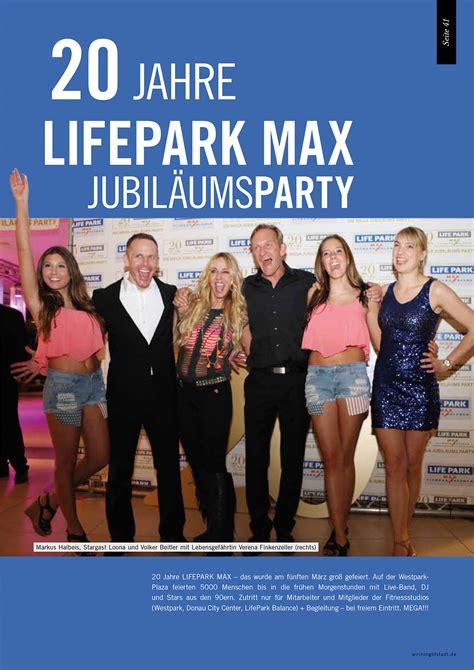 jahre lifepark max im westpark lifepark max