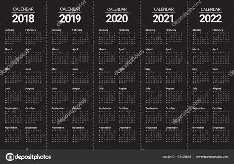 year      calendar vector stock